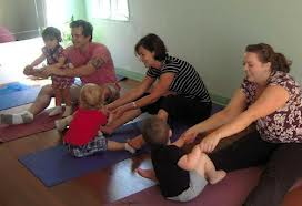 parent and child yoga brighton